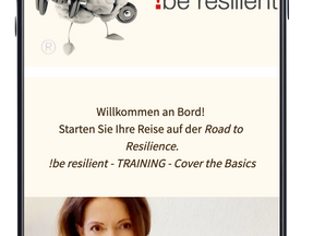 Die !be resilient  APP ist da!