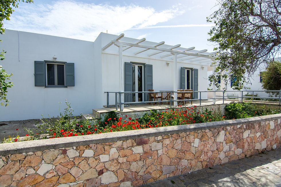 Pavlos House Front