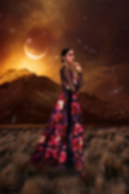 Model: Amariah Jonhson Designer: Andes P