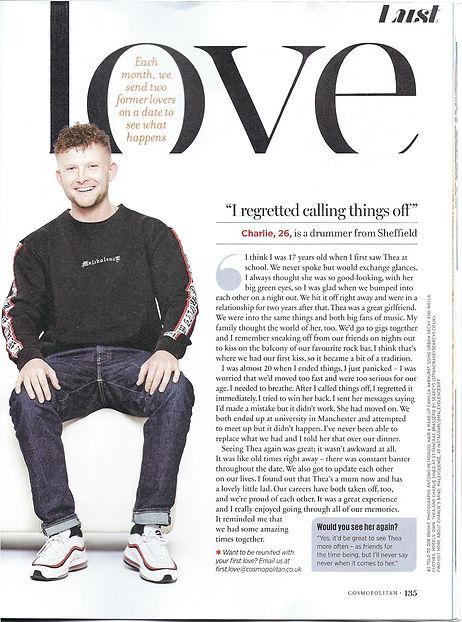 Cosmopolitan UK June 2019 First Love