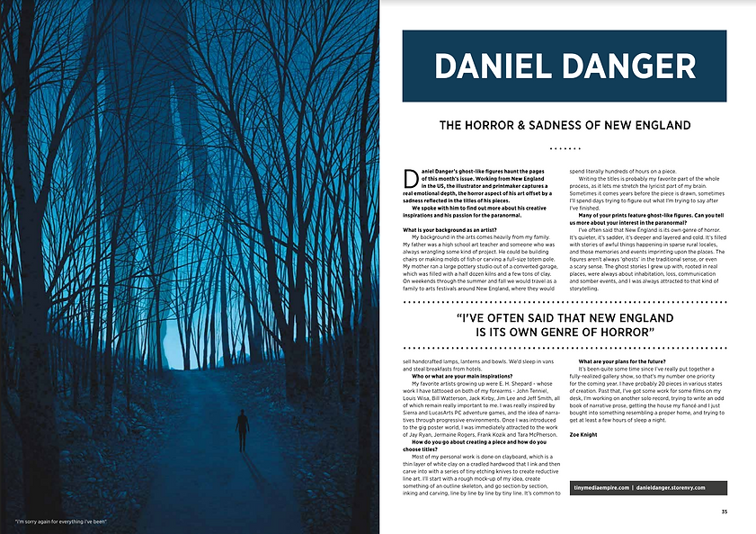 Daniel Danger Interview Now Then Sheffield