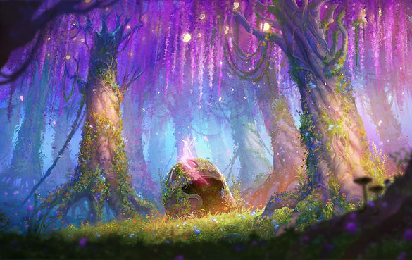 Wisteria Fantasy Forest