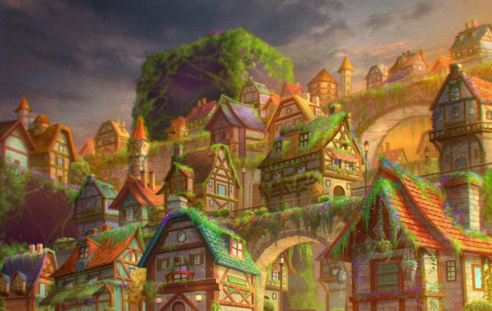 Celestia Village Concept