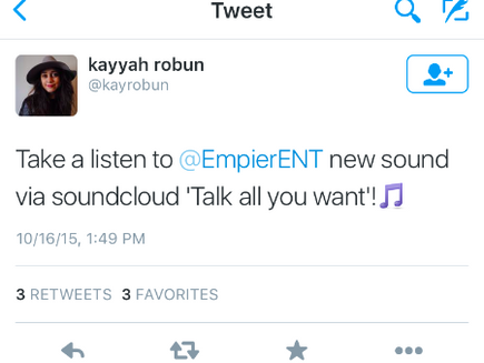 Fans can't get enough of Empier's #TAYW