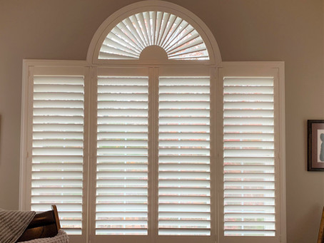 Don't lose the light or views with shutters