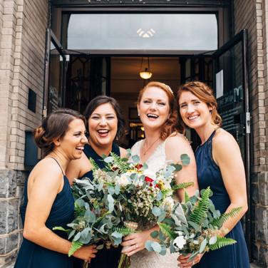 Bridal Bouquet Greenery