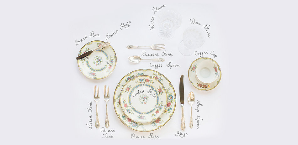 The Anatomy of Setting Your Table