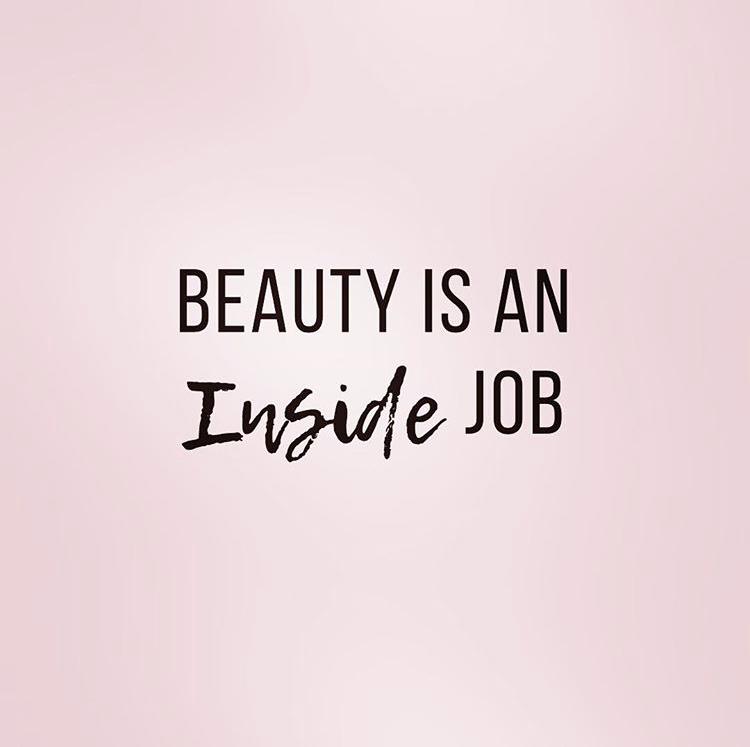 Beauty is an Inside Job by Dr. Erin Stefanacci