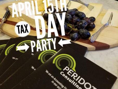 April 15th Tax Day Client Appreciation Event