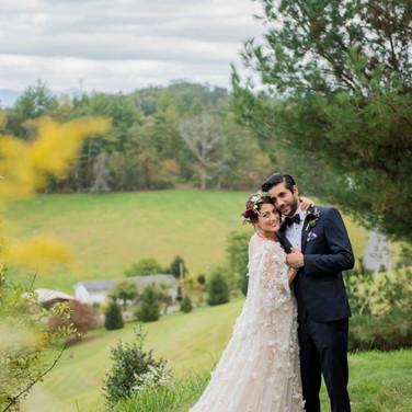 Wedding Couple Field