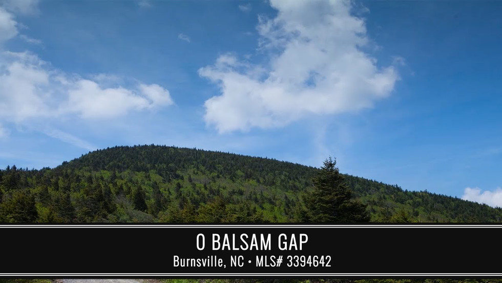 Balsam Gap - SOLD OCT 2020