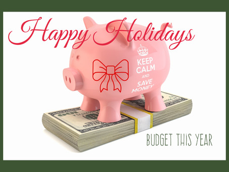 Budgeting for the Holidays (and still enjoying it)