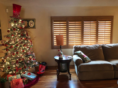 New Shutters installed by Carolina Blinds