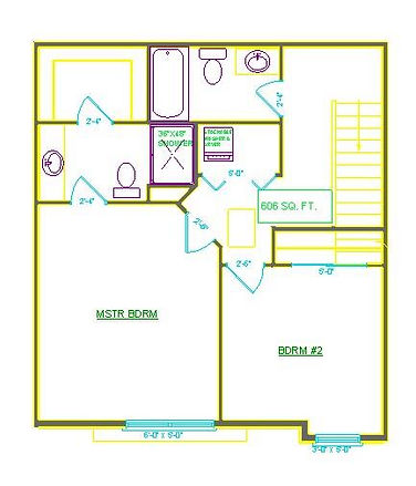 TWO BEDROOM SECOND FLOOR THE COMMONS AT BOYSON PARK