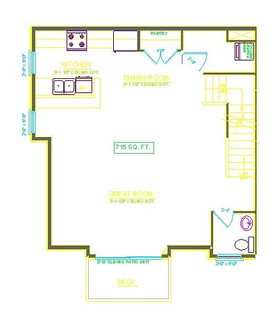 THREE BDROOM UNIT FIRST FLOOR THE COMMONS AT BOYSON PARK