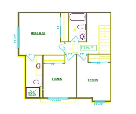 THREE BEDROOM SECOND FLOOR THE COMMONS AT BOYSON PARK