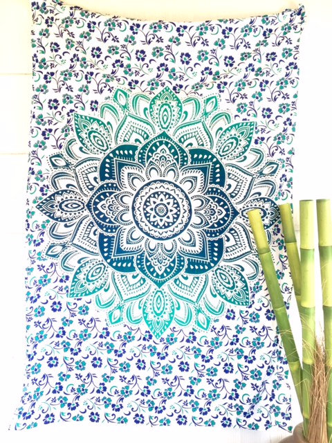 The Feather Tapestry (Teal)