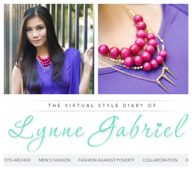 Lynne Gabriel. Fashion Blogger.