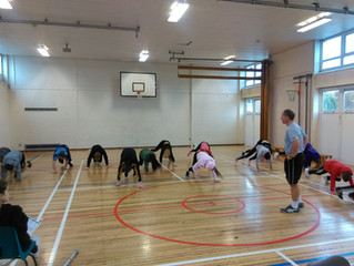 Launch of Young Athlete Academy a success