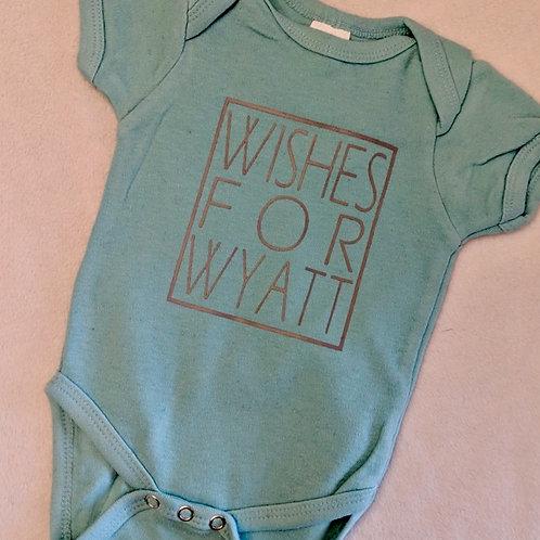 Wishes For Wyatt Onesie
