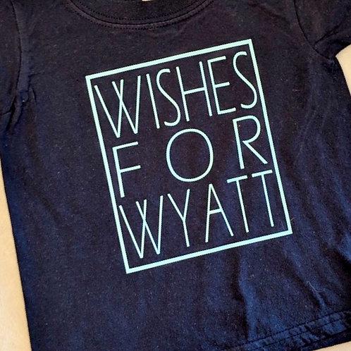 Wishes For Wyatt Tshirt Youth
