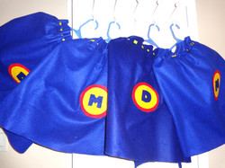 We make our own capes!