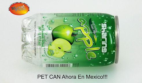 Envases PET CAN (Latas Para Bebidas)