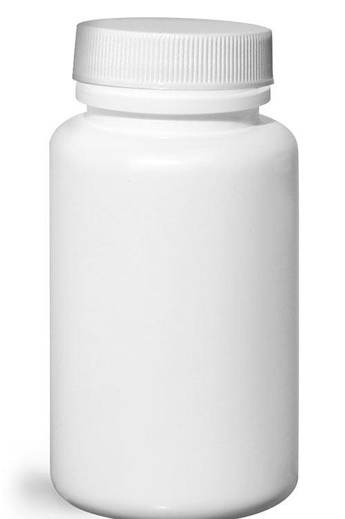 0153-17 Envase Plastico Bco. 120cc C/Tapa  Pack: 22 Pzas