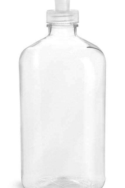 0060-02 Envase PET Transp. 470 ml  Tapa Pull/Push