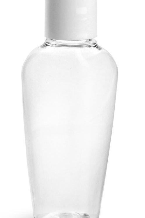 0143-18  envase PET Oval 60ml C/Tapa Disco  Pack: 9 Pzas