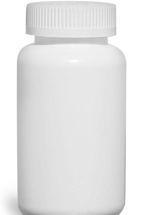 0153-15 Envase HDPE Bco.250 gr Tapa A Prueba de Niños