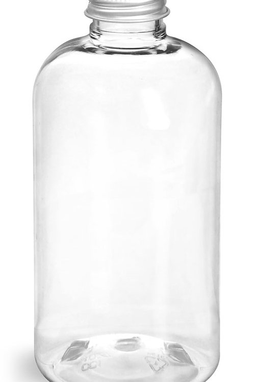0028-24 Envase Boston 240 ml C/Tapa Aluminio Paq. 22 Pzas