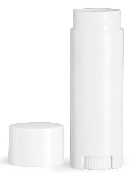 Tubo Plastico Labial Oval 5gr  48 Pzas