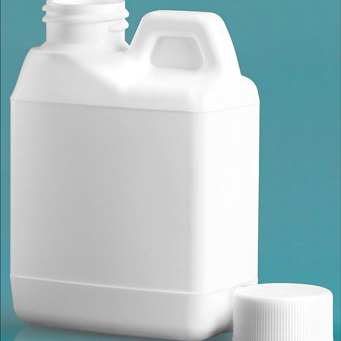 0226-03 Envase Plastico 120 ml C/Tapa Paq 21 Pzas.