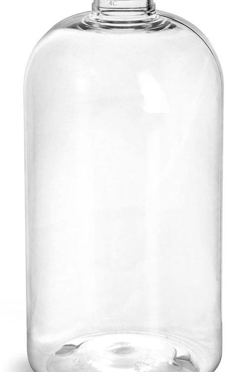 0028-41  Envase PET 480 ml C/Tapa Aluminio Pack 8 Pzas.