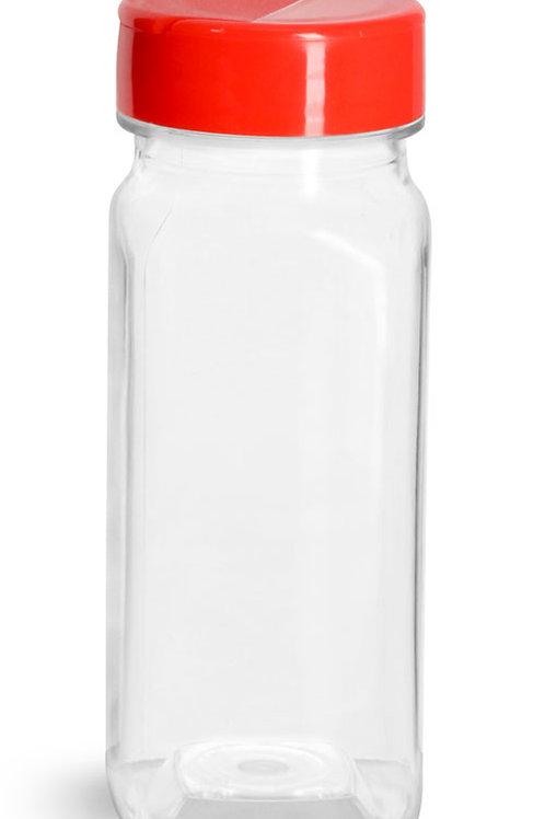0059-11  Envase Especiero Plastico 120 gr C/Tapa  Pack: 17 Pzas.
