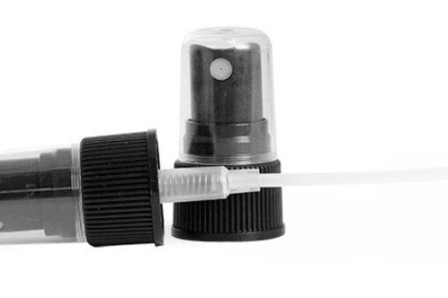 Tapa Atomizador Negro 24/410 Tubo 5.5 plg