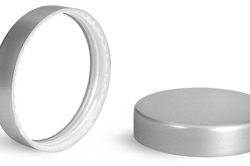 Tapa Plastica 56mm Acabado Silver C/Linner