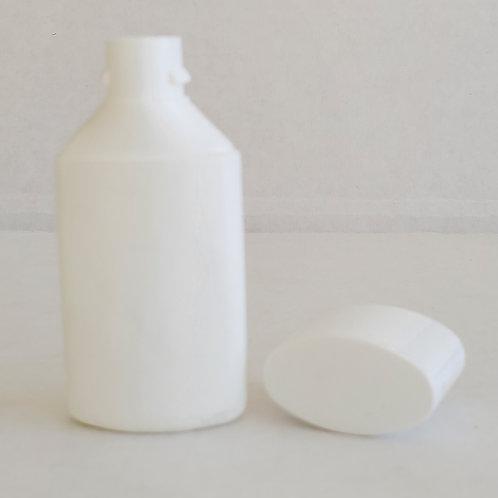 0138-02  Envase Plastico HDPE 15ml C/Tapa Blanca  Pack:46 Pzas.