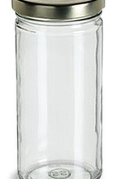 TAL8  Envase Cristal 240 ml C/Tapa  Pack: 12 Pzas.