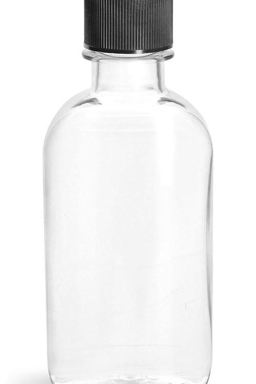 0107-10 Envase Plastico 100ml C/Tapa Paq. 22 Pzas.