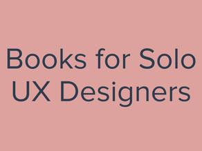 Books for Solo UX Designers