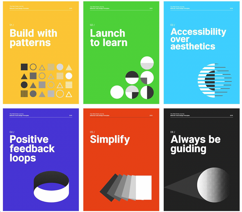 The Wall Street Journal's Design Principles