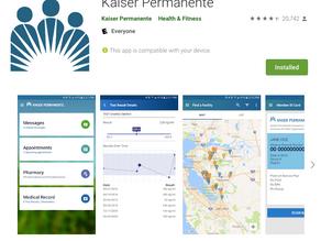 App Critique: Kaiser Permanente