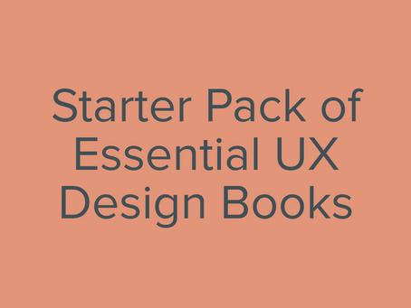 Starter Pack of Essential UX Design Books
