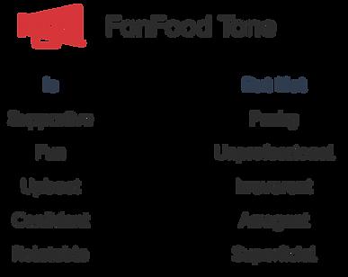 FanFood Tone