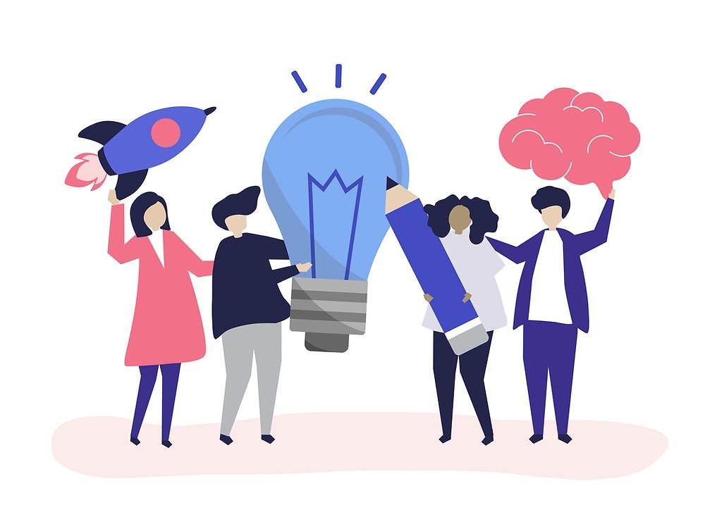 Hoe creativiteit ontwikkelen? Nou zo! (Bron: Rawpixel)