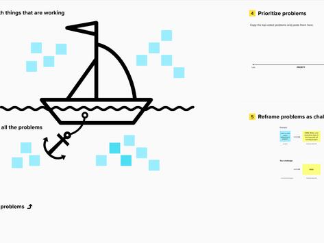 Problemen tackelen met zeilboottechniek