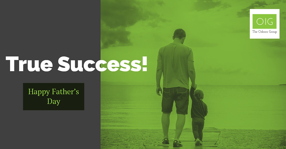 True Success - A letter to Father's