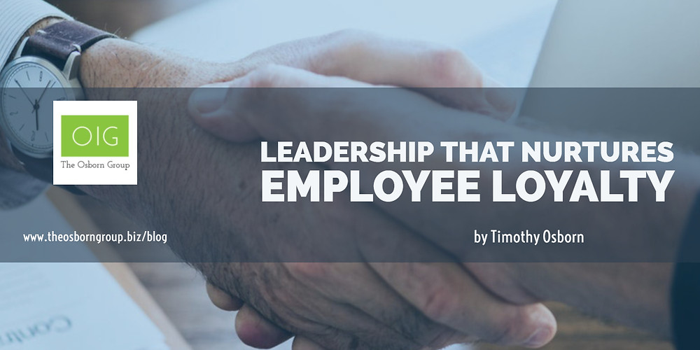 How to get employees to be more loyal!